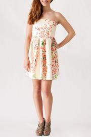 Ya Los Angeles Textured Floral Dress - Product Mini Image