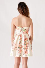 Ya Los Angeles Textured Floral Dress - Side cropped