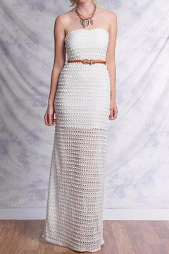 Ya Los Angeles White Crochet Maxi - Product List Image