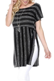 Yak n Yeti Black Stripe Tunic - Product Mini Image