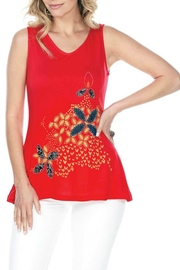 Yak n Yeti Sleeveless Embroidered Tank - Product Mini Image