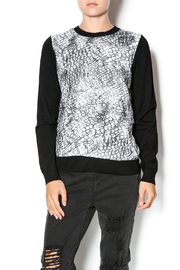 Yal NY Animal Printed Sweater - Product Mini Image
