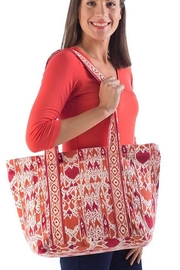 Yala Cotton Canvas Tote Bag - Front cropped