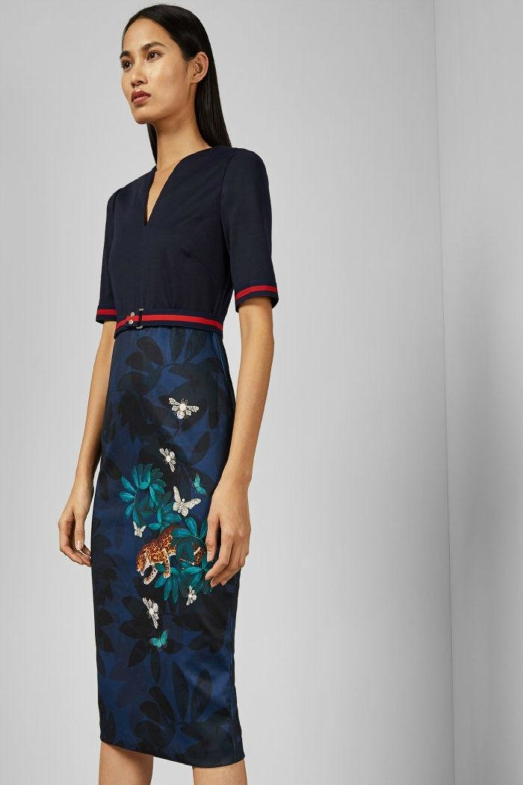Ted Baker London Yalila Bodycon Dress - Front Cropped Image