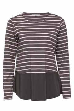 Yarra Trail Stripe Cotton Top - Product List Image