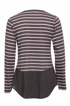 Yarra Trail Stripe Cotton Top - Alternate List Image