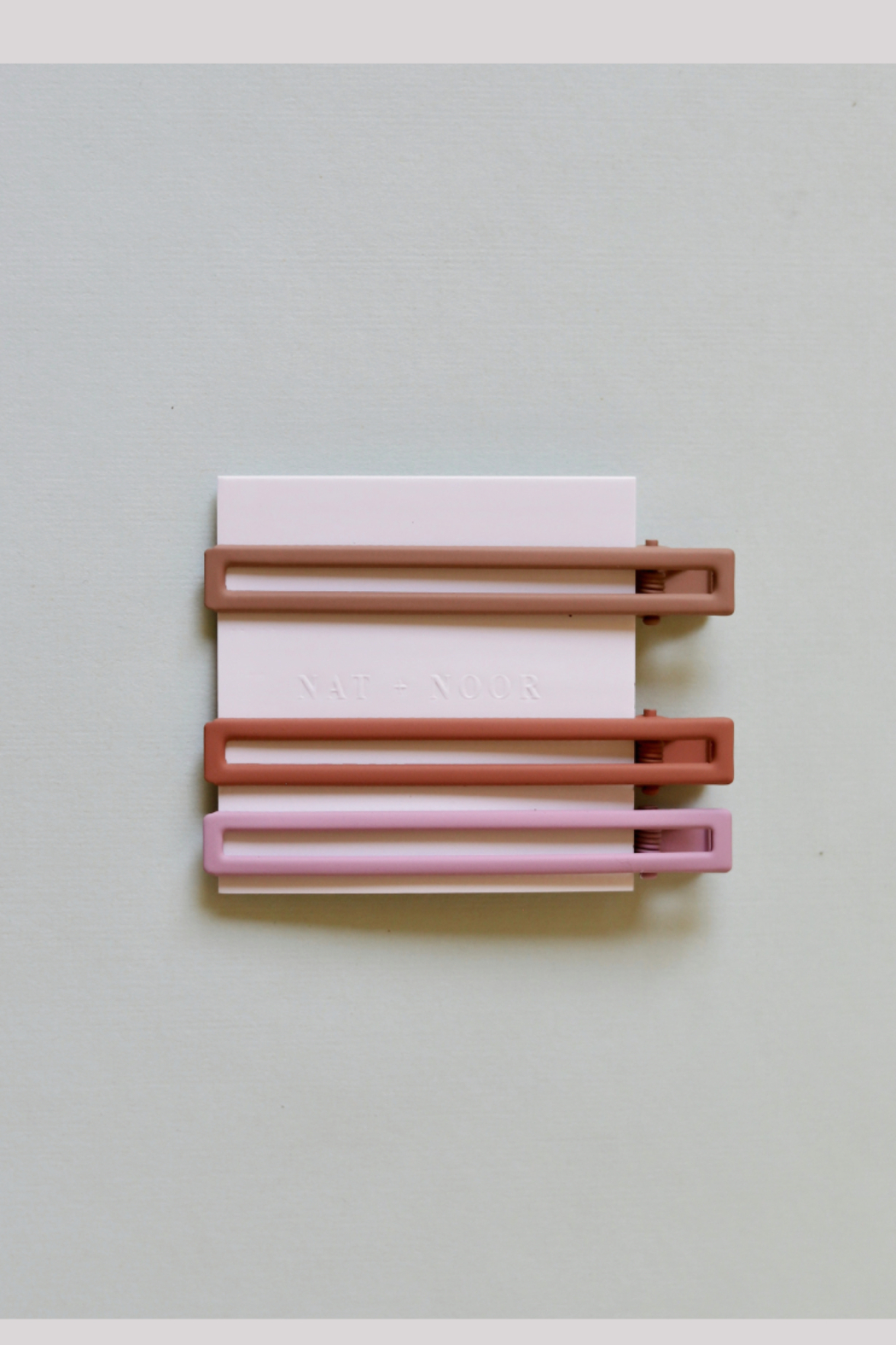 Nat + Noor Yarrow Hair Clips Set of 3 - Front Cropped Image