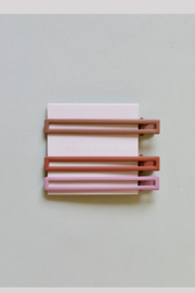 Nat + Noor Yarrow Hair Clips Set of 3 - Front cropped