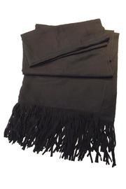 Yatra Collection Suede Fringe Scarf - Product Mini Image