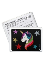 YAY Novelty Vaccination Cardholer - Front cropped