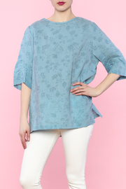 Shoptiques Product: Blue Linen Top