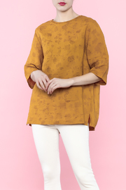 Shoptiques Product: Yellow Linen Top