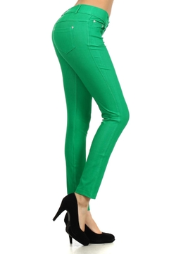 Yelete 5-Pocket Skinny Jegging - Alternate List Image