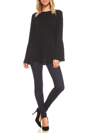 Yelete Bell Sleeve Top - Front full body