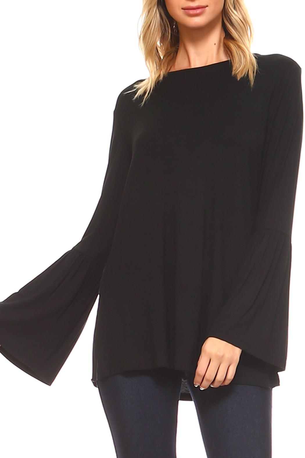 Yelete Bell Sleeve Top - Side Cropped Image