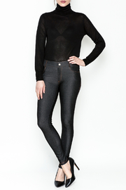 Yelete Black Jeggings - Side cropped