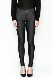 Yelete Black Jeggings - Front full body