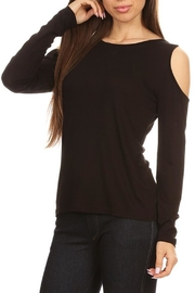 Yelete Cold Shoulder Top - Product Mini Image