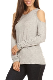 Yelete Cold Shoulder Top - Front cropped