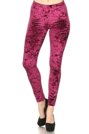 Yelete Icy Velvet Leggings - Product Mini Image
