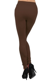 Yelete Seamless Fleece-Lined Legging - Side cropped