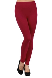 Yelete Seamless Fleece-Lined Legging - Front cropped