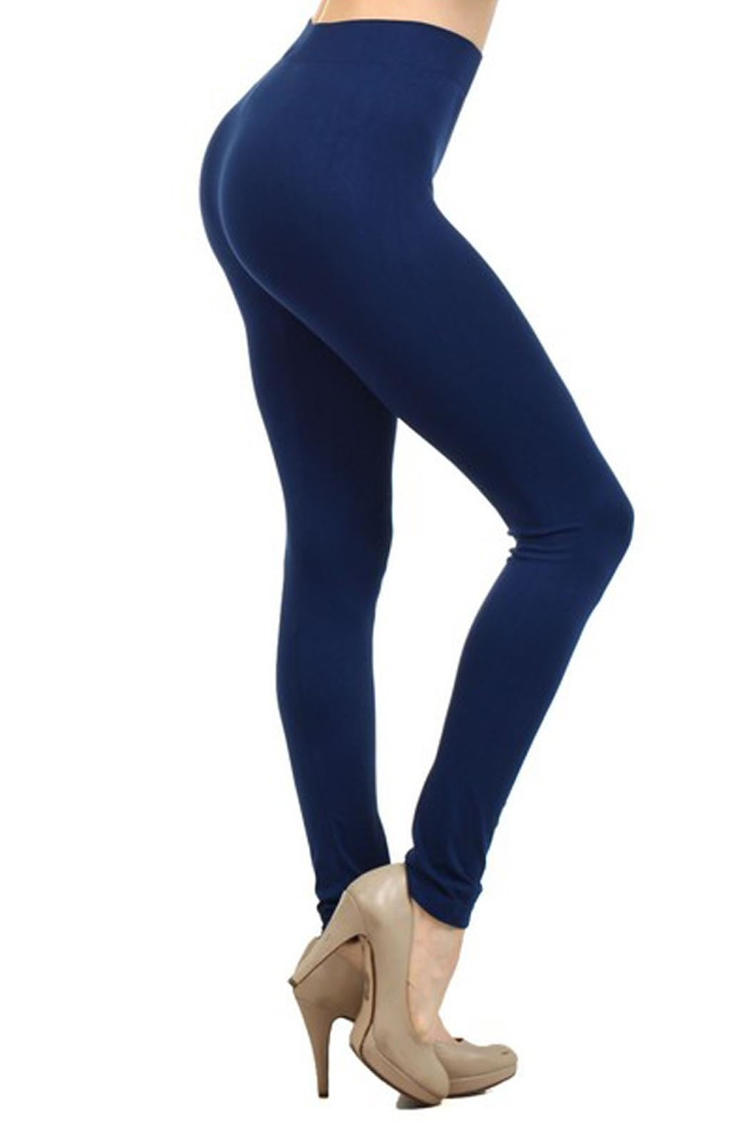Yelete Solid Color Leggings - Main Image