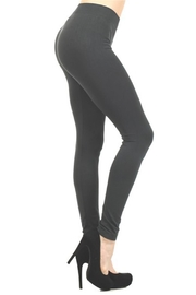Yelete Solid Color Leggings - Front cropped