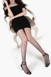 Yelete Stone Fishnet Pantyhose - Product Mini Image