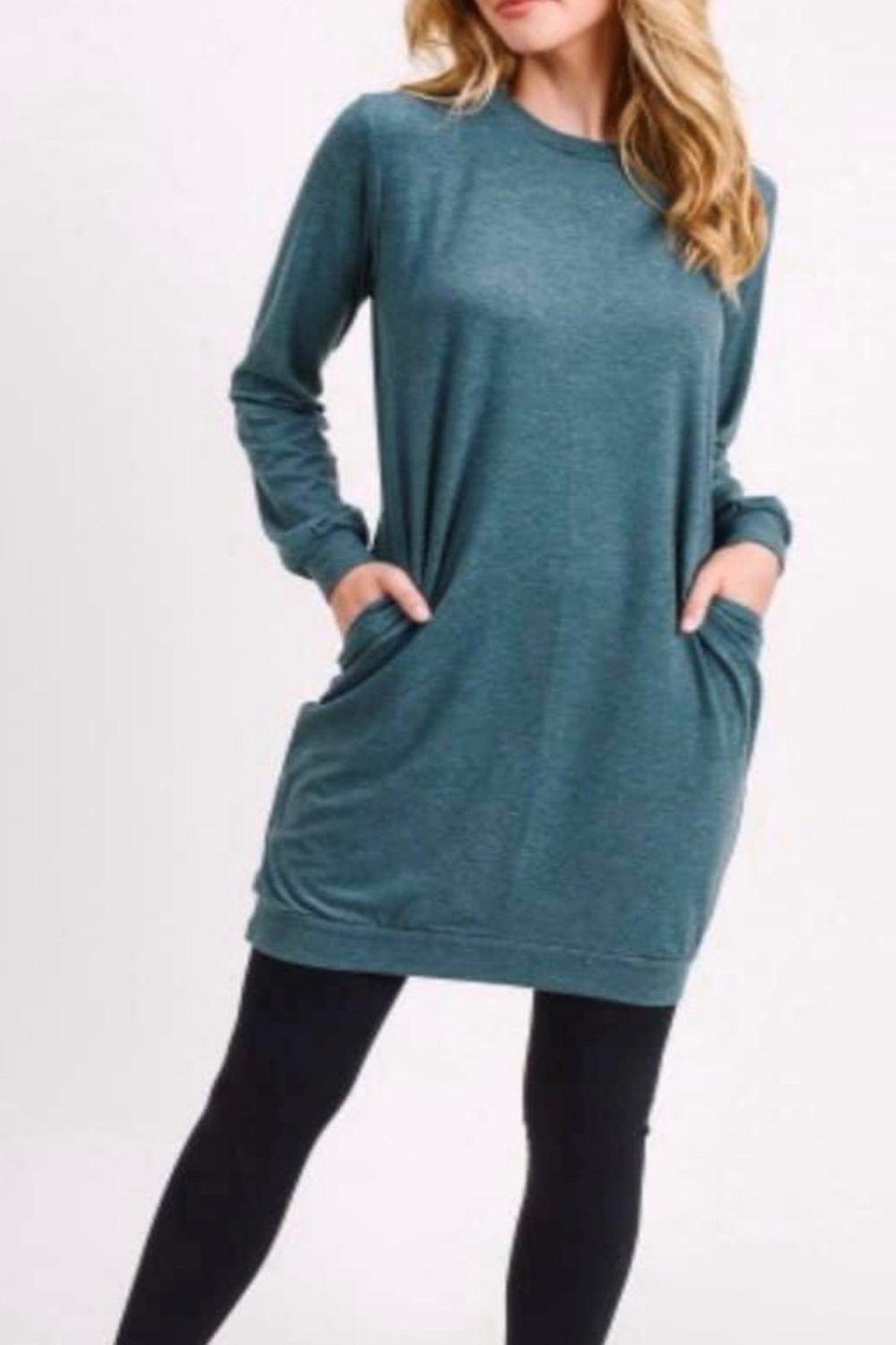 Yelete The Best Sweaterdress - Front Cropped Image