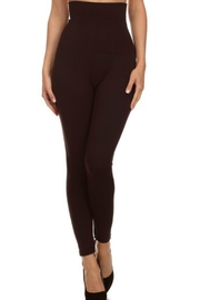 Yelete Tummy Control Leggings - Front cropped