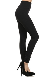 Yelete Waist Fleece Legging - Front cropped