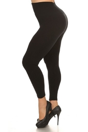 Yelete Waist Fleece Leggings - Product Mini Image