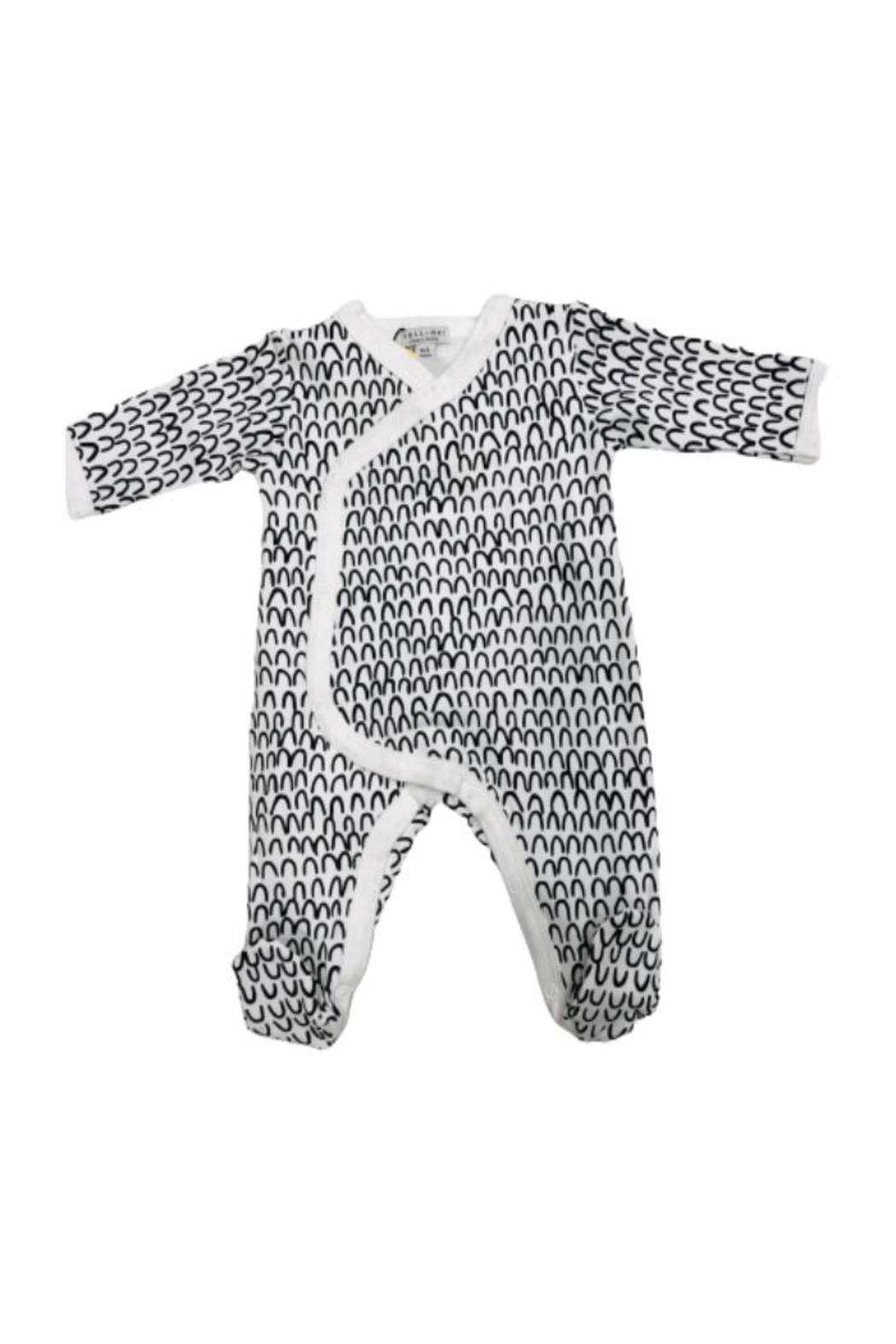 YELL-OH YELL-HO Baby Mountain Design Bodysuit for newborn Soft Comfy - Main Image