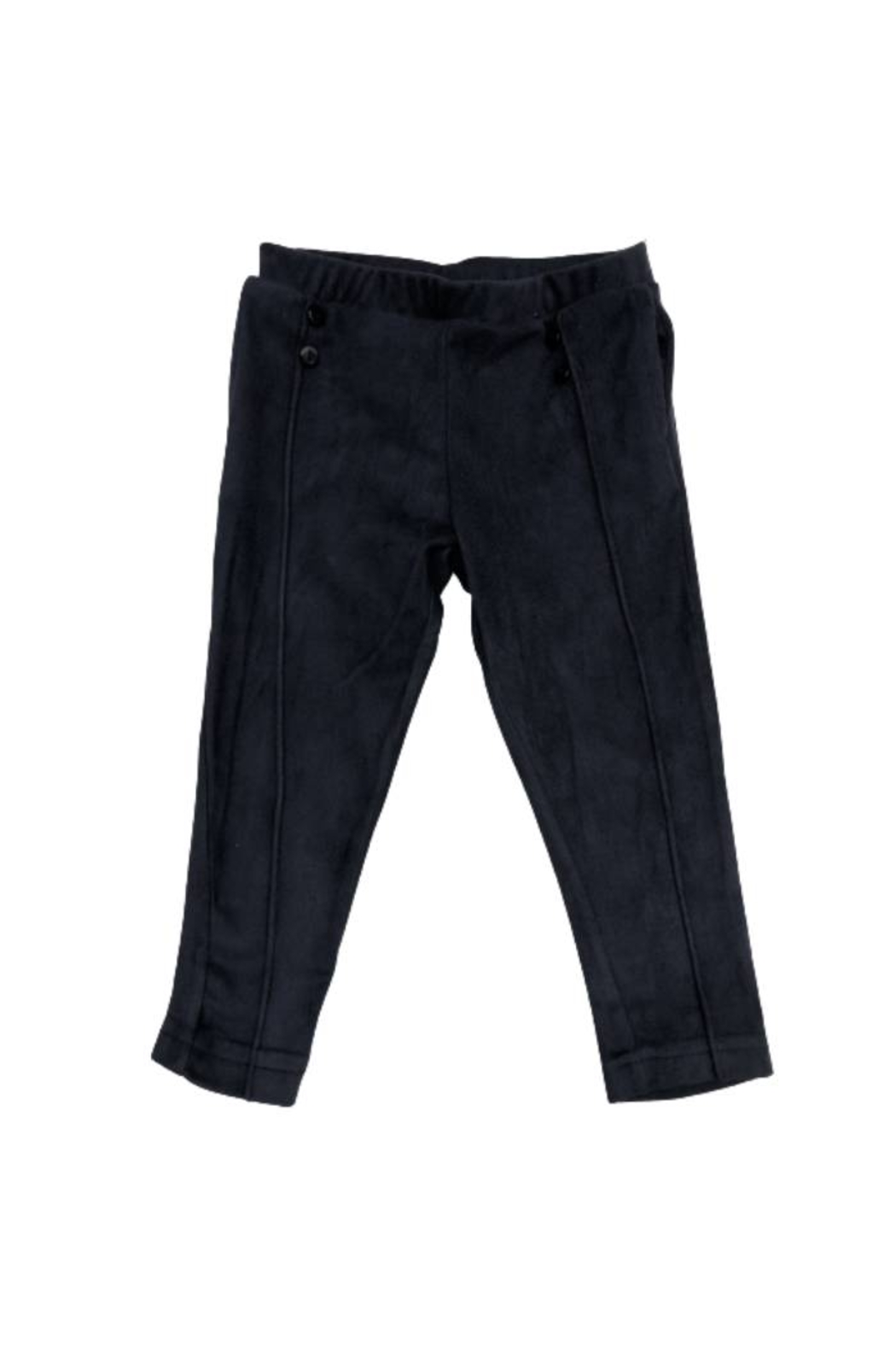 YELL-OH Suede Blue Pant for Baby Boy - Main Image