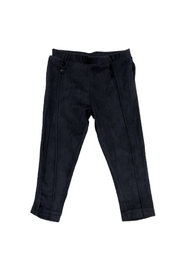 YELL-OH Suede Blue Pant for Baby Boy - Product Mini Image