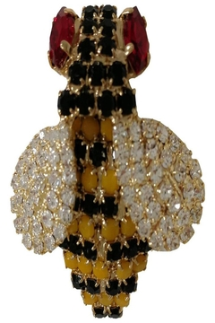 Shoptiques Product: Yellow Bee Brooch