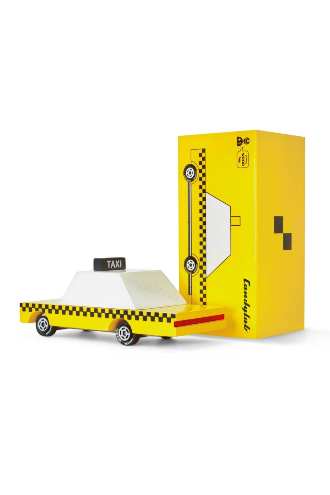 Candylab Toys Yellow Cab Candycar - Main Image