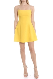 LIKELY Yellow Carter Dress - Product Mini Image
