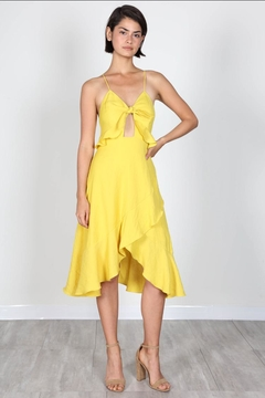 Shoptiques Product: Yellow Dress