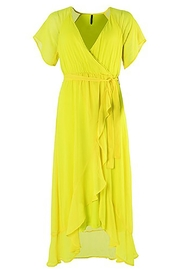 Smash  Yellow Emerson Dress - Front cropped