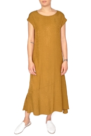 LACAUSA Yellow Flapper Dress - Front cropped