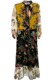 ANTONELLO SERIO Yellow Floral Maxi - Product Mini Image