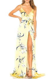 Amanda Uprichard Yellow Floral Maxi - Product Mini Image