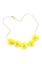 Wild Lilies Jewelry  Yellow Floral Necklace - Product Mini Image