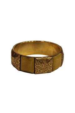 Simply Chic Yellow-Gold Bangle - Alternate List Image
