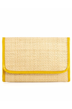 Shiraleah Yellow Karlie Clutch - Alternate List Image