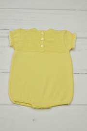 Granlei 1980 Yellow Knitted Onesie - Front full body