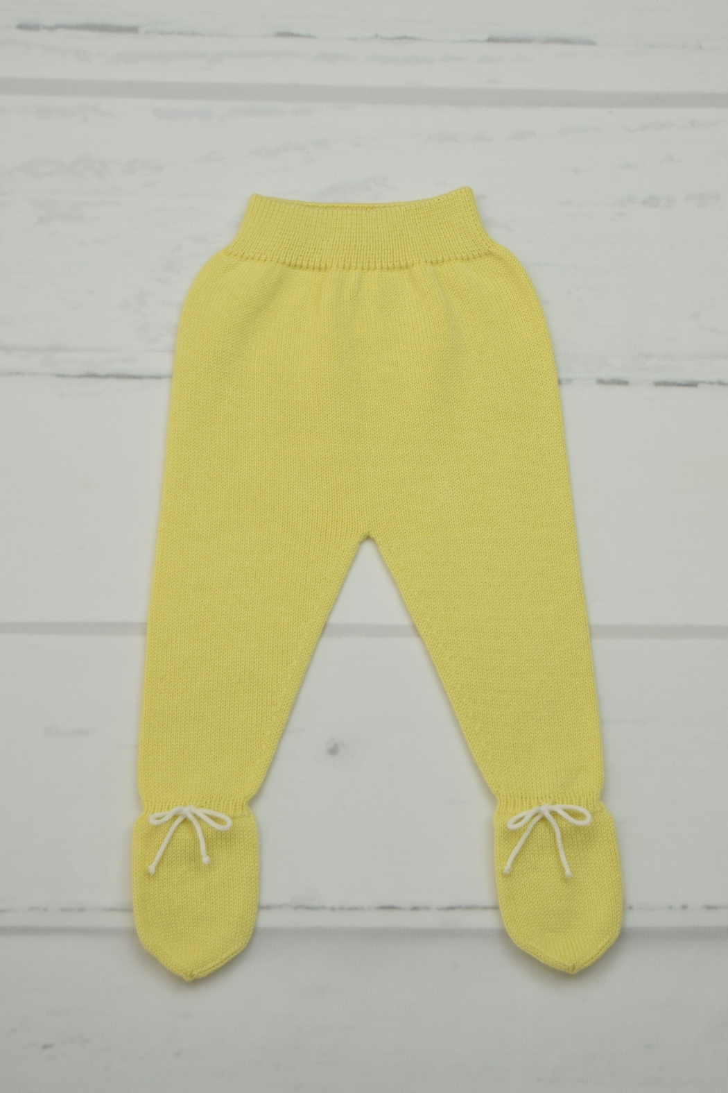 Granlei 1980 Yellow Knitted Outfit - Side Cropped Image