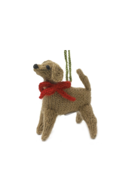Arcadia Home Yellow Lab - Hand Knit Alpaca Ornament - Product List Image